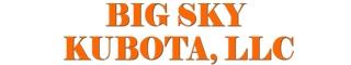big sky kubota logo