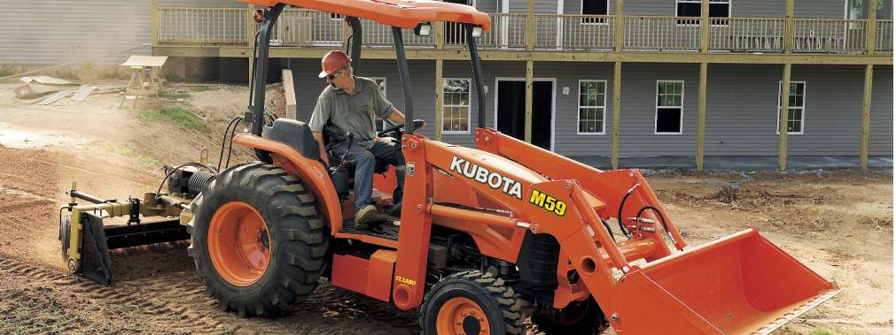 man on kubota